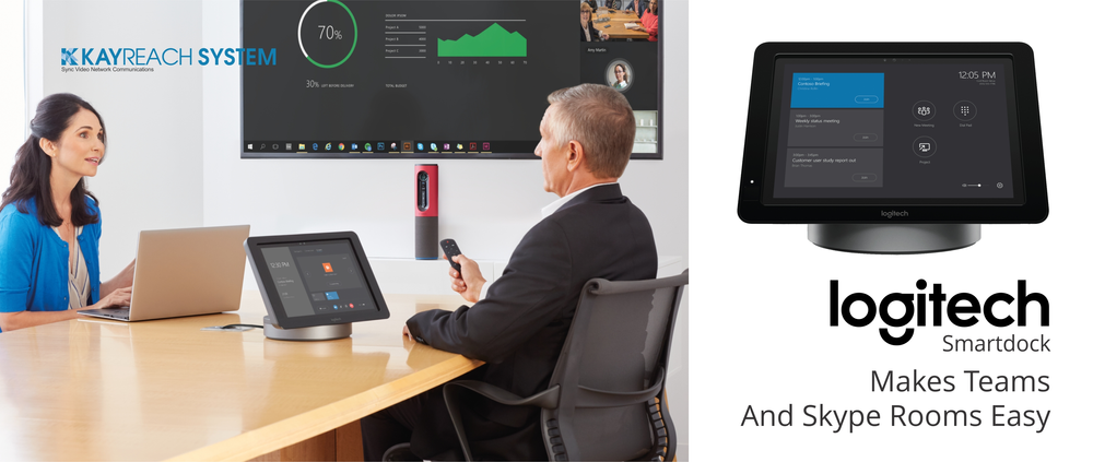 18ae336d69a Logitech Smartdock. Smartdock Makes Teams And Skype Rooms Easy