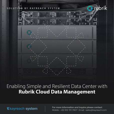 Enabling Simple and Resilient Data Center with Rubrik Cloud Data Management