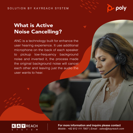 Poly Voyager Focus UC with ANC Technology