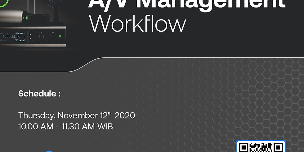 Digitized Your A/V Management Workflow