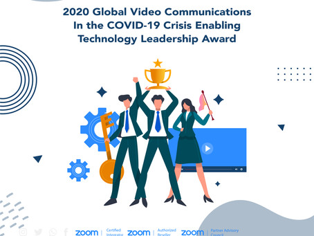 2020 Global Video CommunicationsIn the COVID-19 Crisis EnablingTechnology Leadership Award