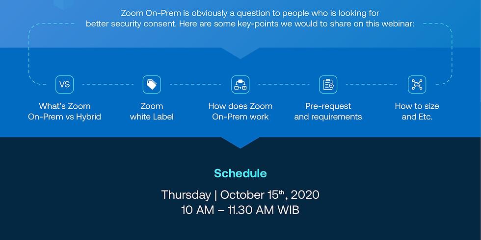Zoom On-Prem for Enterprise Part 1