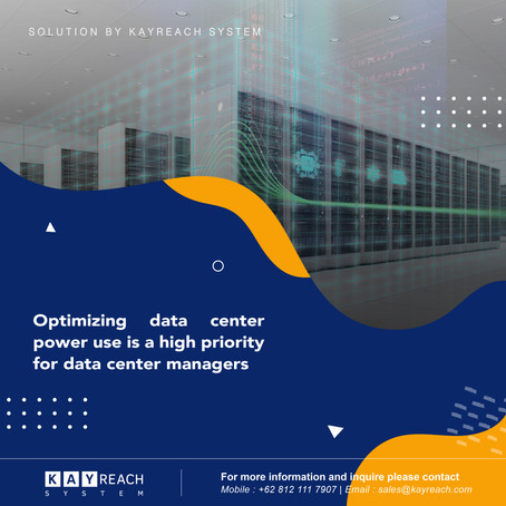 Optimizing Data Center Power Use is a High Priority For Data Center Managers