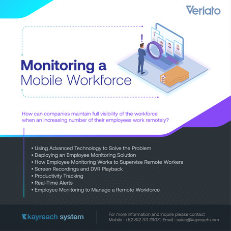Monitoring a Mobile Workforce