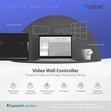 Video Wall Controller - Powerful Video and Image Processing Device
