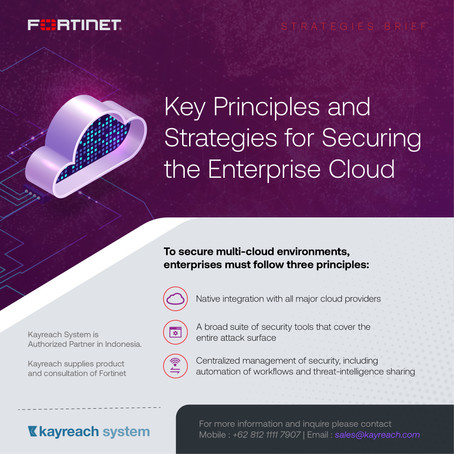 Key Principles and Strategies for Securing the Enterprise Cloud STRATEGIES BRIEF