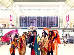 成田国際空港イベント 創作日本舞踊ショー「石川五右衛門」開催