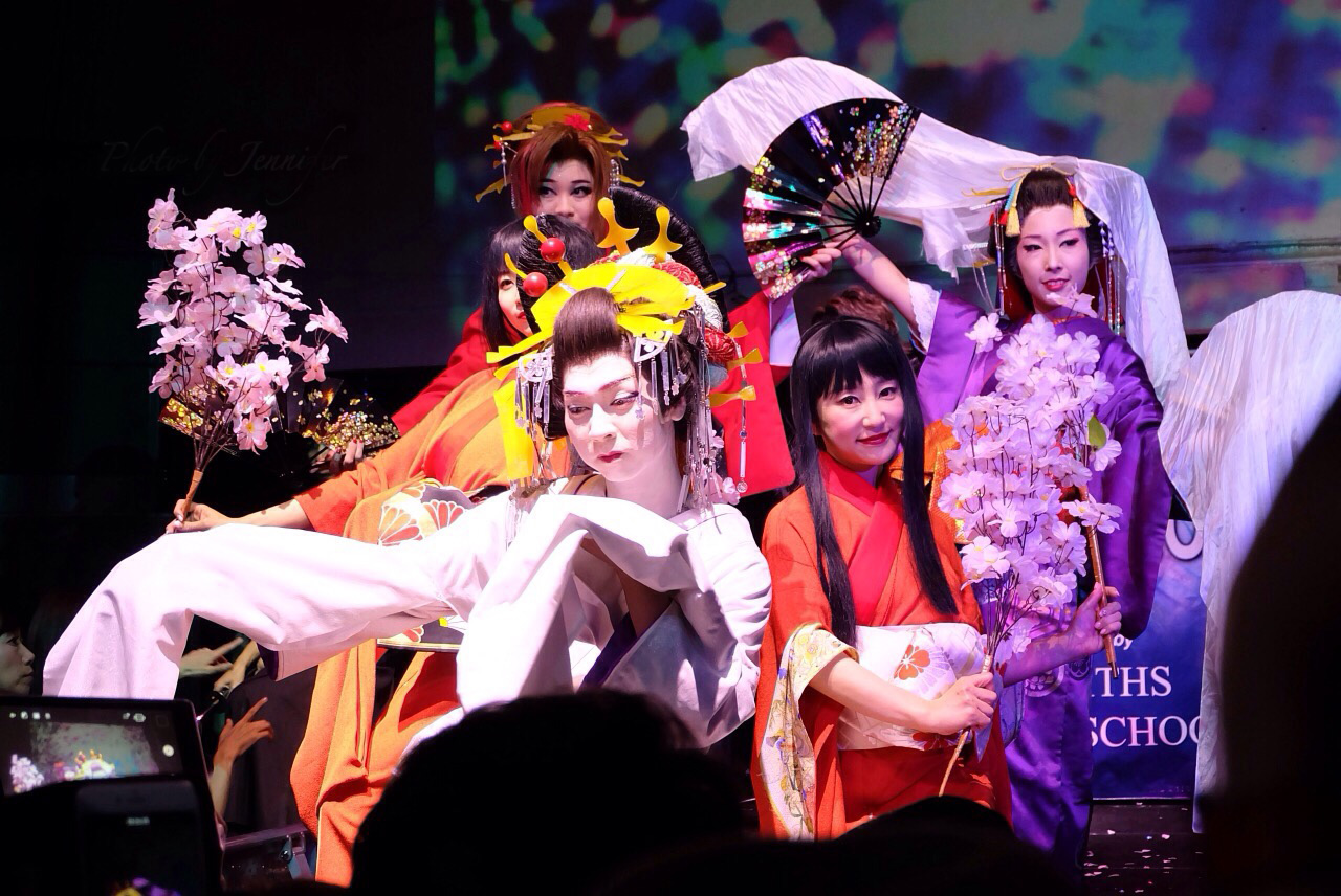 Oiran[Geisha] show