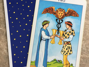 Two of Cups: Balancing the Healing Heart