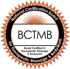 Nationally certified in therapeutic massage