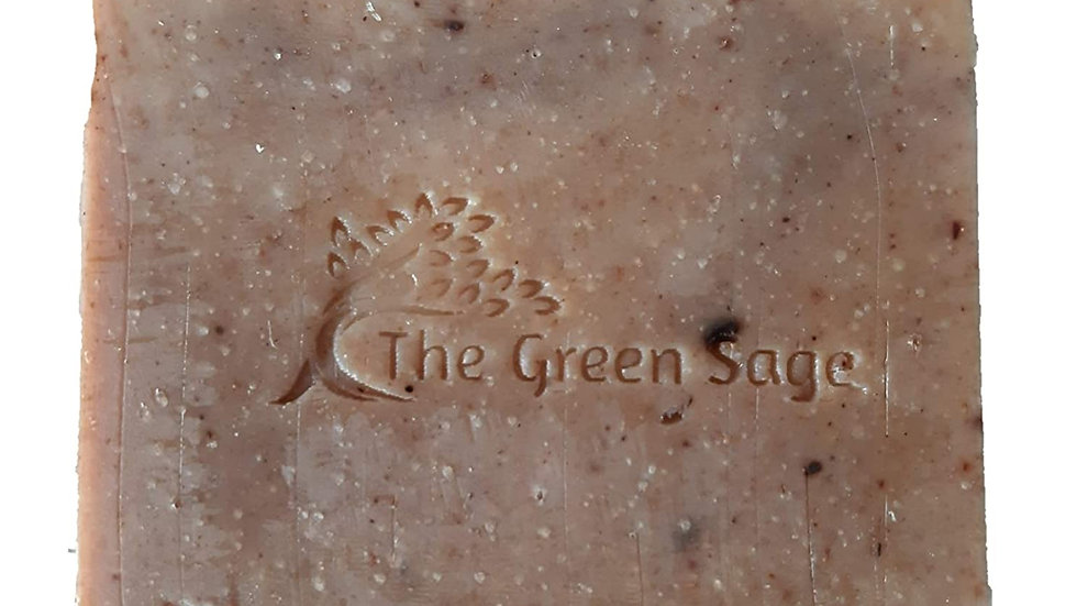 Cold Process Ghee soap with Aloe Vera - Unscented, 90 gms by The Green Sage