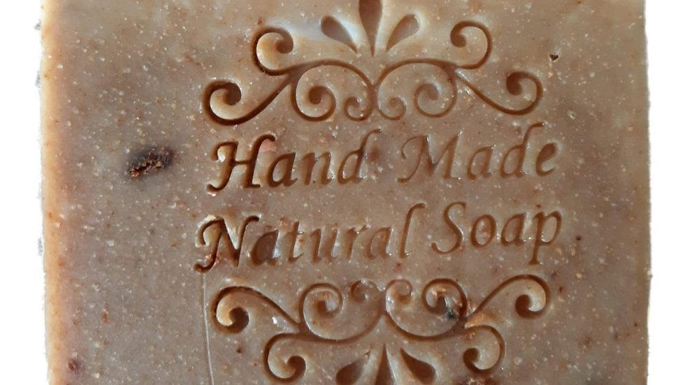 Cold Process Ghee Strawberry & Banana Soap - Unscented, 90 gms