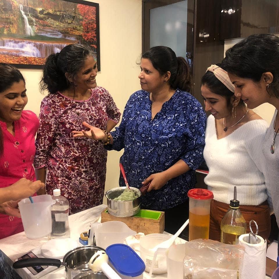 Natural Coldprocess Soap Making Workshop