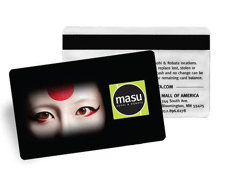 Masu and The Nomu Room Gift Card - $25