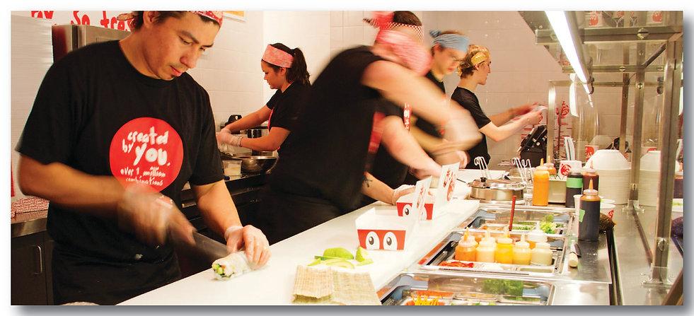 Custom Sushi Roll