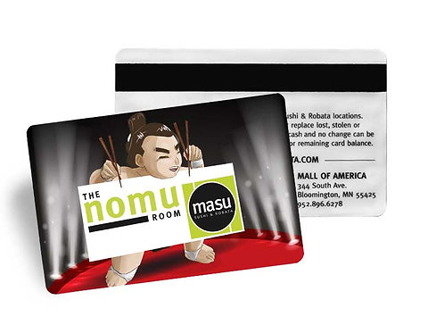 Masu & The Nomu Room Gift Card - $100