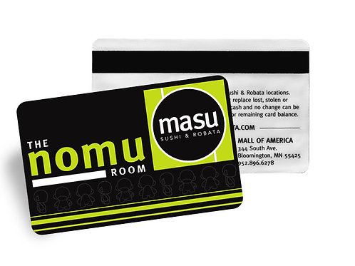 Masu and The Nomu Room Gift Card - $50