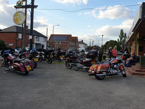 Very first bike night turnout!