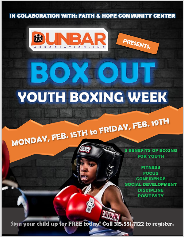 Youth Boxing Flyer
