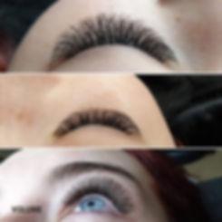 VOLUME eyelash extensions Intrigue Salon Dyer Indiana