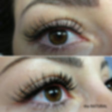 the NATURAL eyelash extensions Intrigue Salon Dyer Indiana