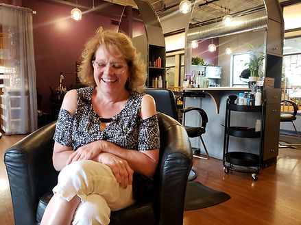 Shelly Schaap owner/hairdresser of Intrigue Salon & Day Spa in Dyer Indiana