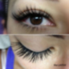 the LAVISH eyelash extensions Intrigue Salon Dyer Indiana