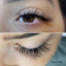 the FLIRT eyelash extensions Intrigue Salon Dyer Indiana