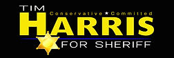5 Harris For Sheriff_3x9 Banner_Blue Lin