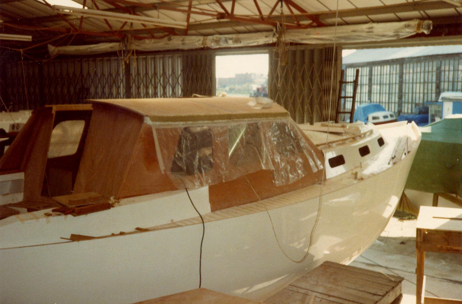 Hoodwink - the first V32 Pilot under construction