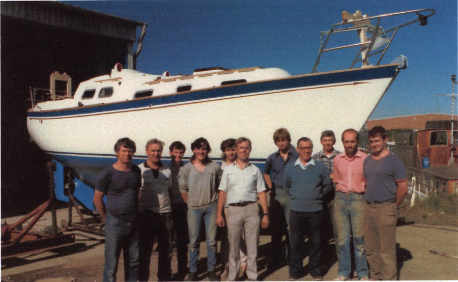 The Pheon Yachts Workforce