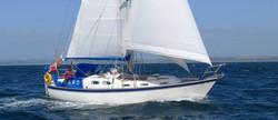 """Picaro"" under full sail"