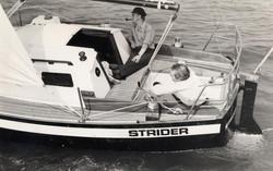 Strider - John Dandridge with cap and pipe!