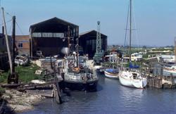 "Cantell's Boatyard and ""Breakaway"""