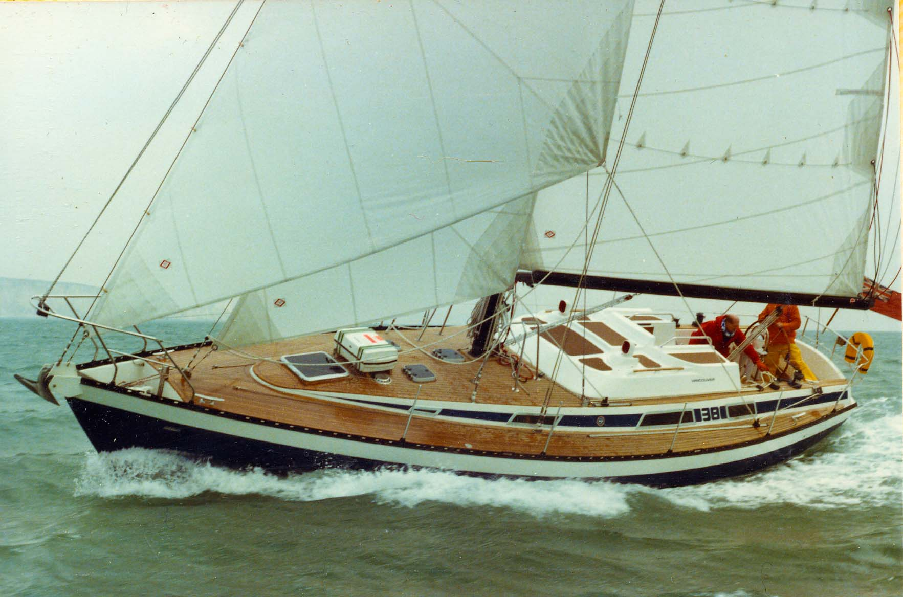 V38 with Yachting World team