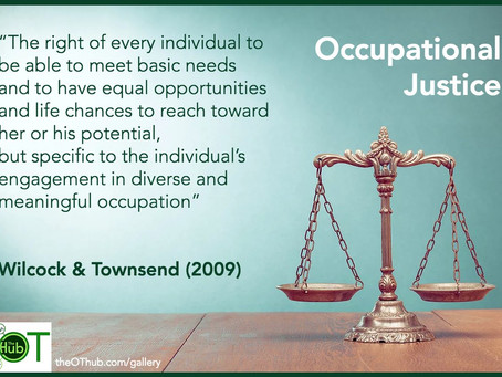 Occupational Injustice has been prevalent since ancient days.