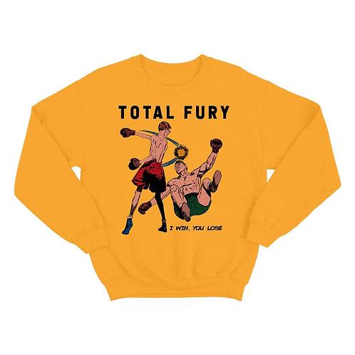 TOTAL FURY crewneck [yellow]