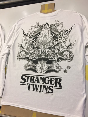 STRANGER TWINS Japan Tour T-shirts