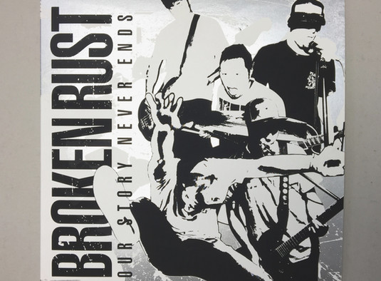 BROKEN RUST LP / Soulage records