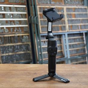 スマホ用ジンバル&動画撮影用カメラの貸出し開始