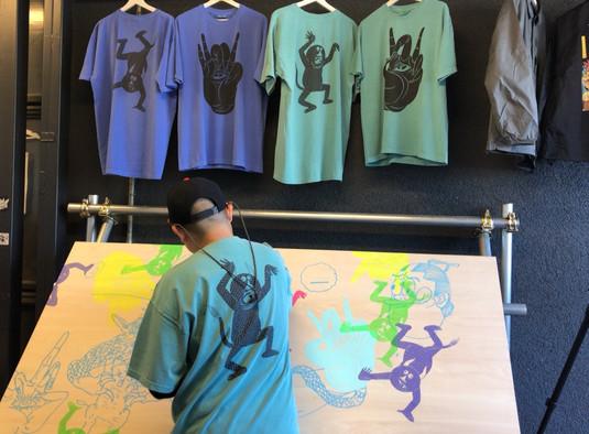 Hanautah × analog T-shirts