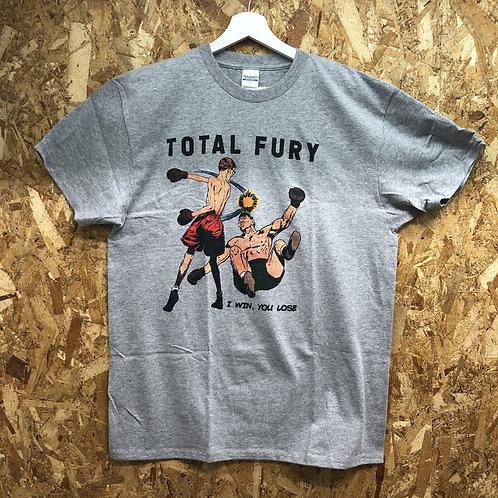 TOTAL FURY T-shirts Grey