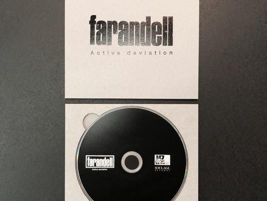 【farandell】Active deviation CDケース