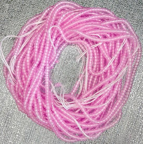 Lite Matte Pink Waist Bead