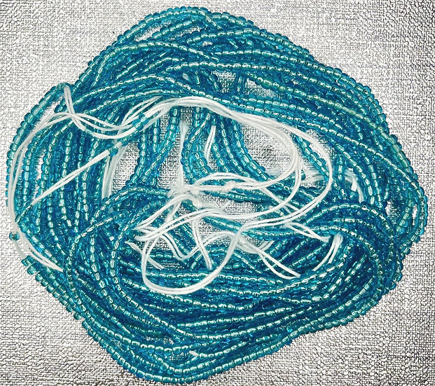 Ocean Blue Waist Bead