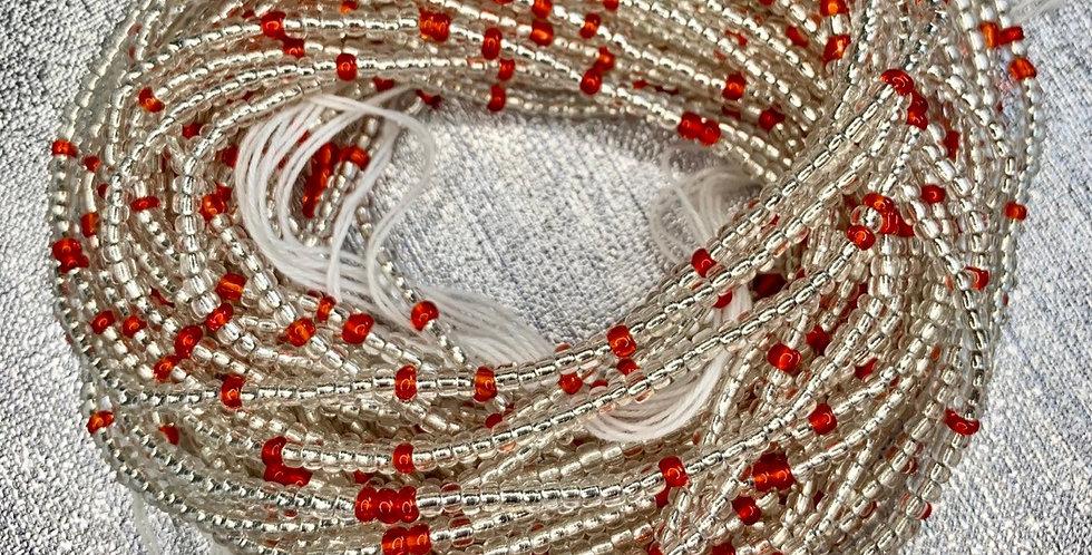 Red Passion Waist Bead