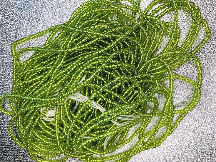 Green Fortune Waist Bead