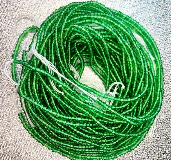Emerald Green Waist Bead
