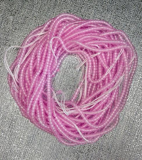 waist beads african waist bead body beads pink
