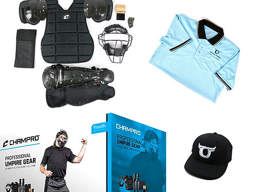 Youth Umpire Kit w/ a Shirt and a Hat